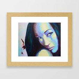Desconcierto. Framed Art Print