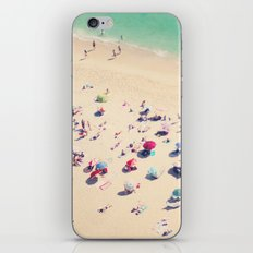 beach summer in love iPhone Skin
