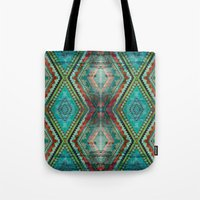 aztec Tote Bags featuring AZTEC by ED design for fun