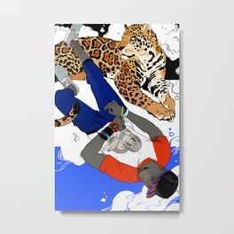 Bola & Jaguar Metal Print