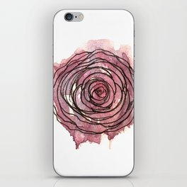 english pen rose iPhone Skin