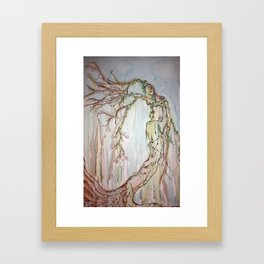 Woman of the Trees Framed Art Print