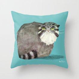 Manul Throw Pillow