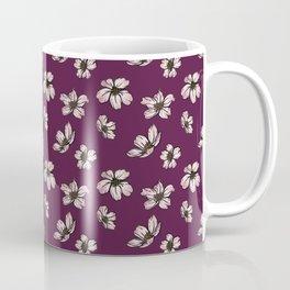 Cherry Blossoms - Plum Coffee Mug