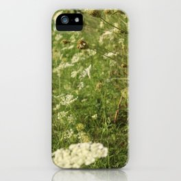 Sunset Weeds iPhone Case