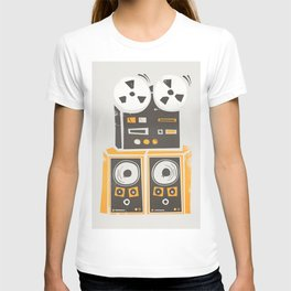 Reel to Reel Player T-shirt