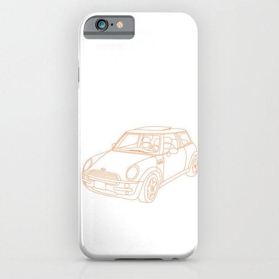 My Mini Cooper iPhone & iPod Case