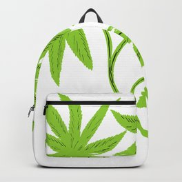 Feather Flower #1 Backpack