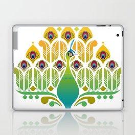 Java Green Peacock [Pavo Muticus] Laptop & iPad Skin