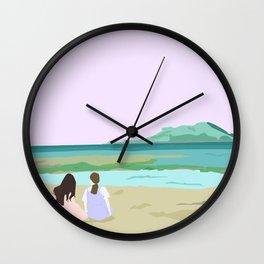 Indigo Trip Wall Clock