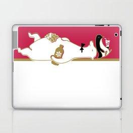 Holiday Polar Bear and Penguin Laptop & iPad Skin