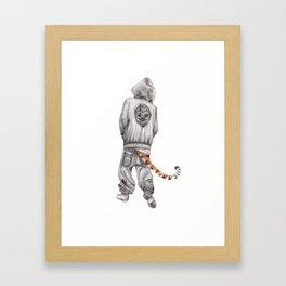 Fierce Attitude Framed Art Print