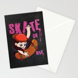 Skateboarder Gift Idea Stationery Cards