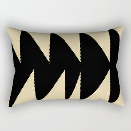 Arrowhead geometry motive Rectangular Pillow