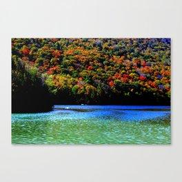 Lake Willoughby, VT -South Beach - Banana Cove Canvas Print