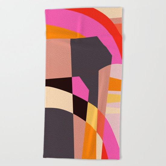 Fragments VI Beach Towel