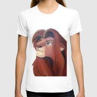 simba T-shirts featuring Simba by Jgarciat