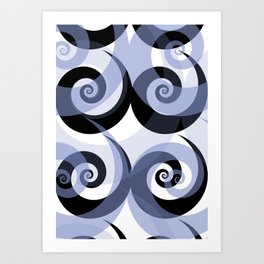 NAKED GEOMETRY no 6 Art Print