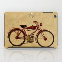 ducati iPad Cases featuring Ducati 1950 - Classic bike by Larsson Stevensem