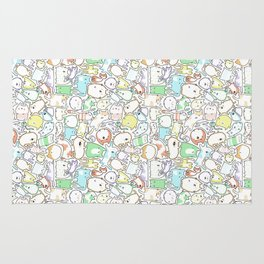 Doodle Cats Rug