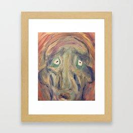 We are never always right. Framed Art Print