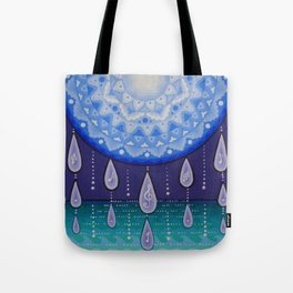 Moonlight Sonata Mandala Tote Bag