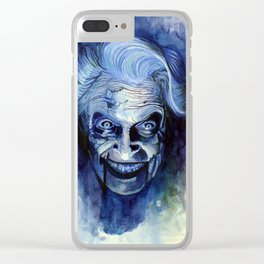 Mary Shaw Clear iPhone Case