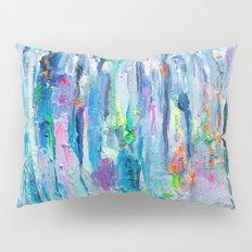 Silver Rain Pillow Sham