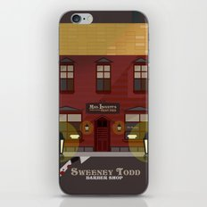 sweeney todd  iPhone & iPod Skin