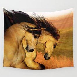 HORSES - The Buckskins Wall Tapestry