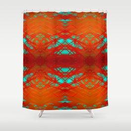 Feisty v2 Shower Curtain