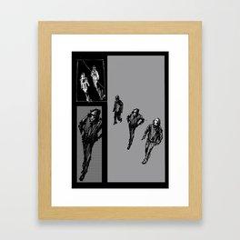 Approaching Framed Art Print
