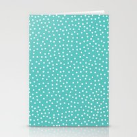 dots Stationery Cards featuring Dots. by Priscila Peress