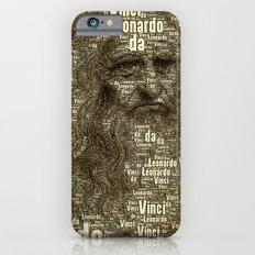 Leonardo da Vinci iPhone 6s Slim Case