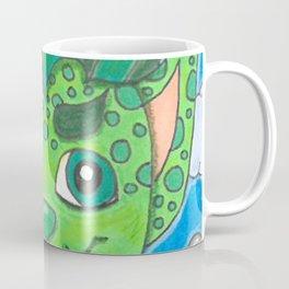 Young Goblin with stuffed dog Coffee Mug