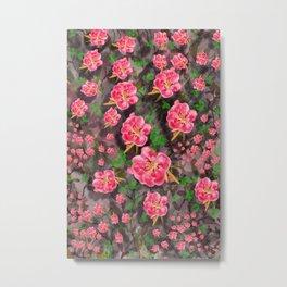 Florist Metal Print