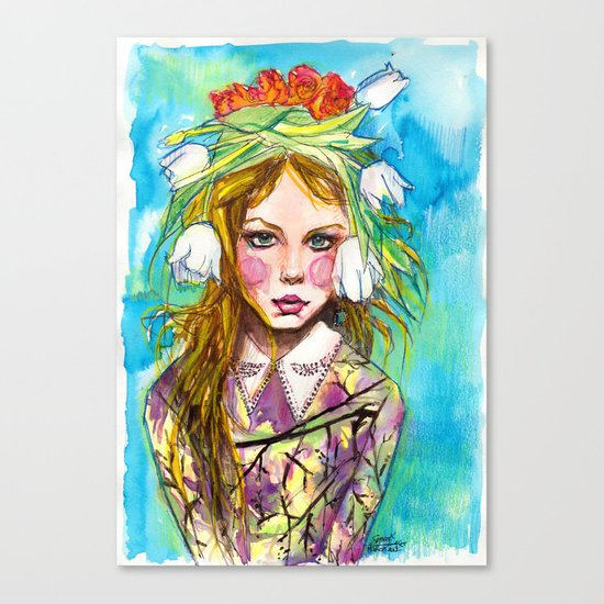 Fashion - Spring is Coming Canvas Print