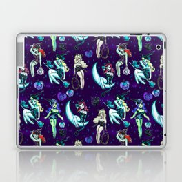 Witches and Black Cats Laptop & iPad Skin
