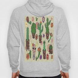 mosaic cactus plant pots Hoody