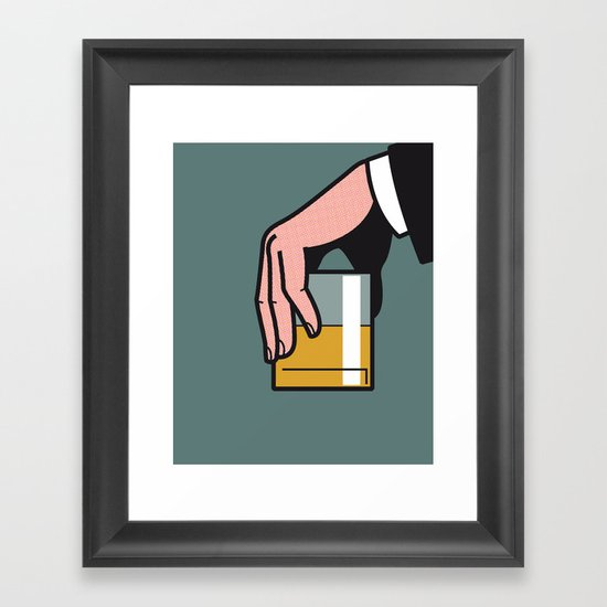 Pop Icon - Madmen 2 Framed Art Print