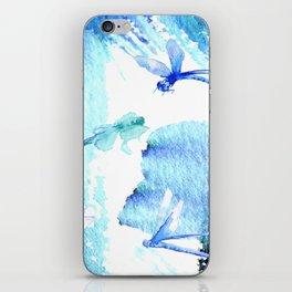 Dragon fly iPhone Skin