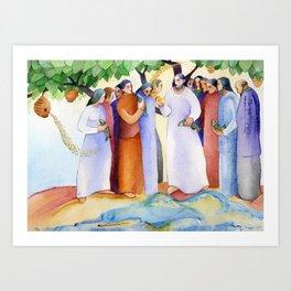 Risen Christ Art Print