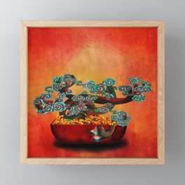 bonsai Framed Mini Art Print