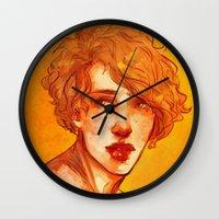 apollo Wall Clocks featuring apollo by chazstity