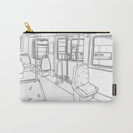 Subway Study Carry-All Pouch