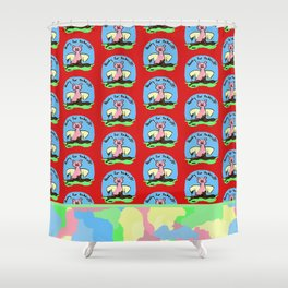 Ready for takeoff! Shower Curtain