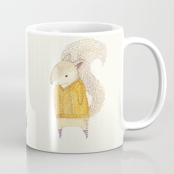 The Last Acorn of Autumn Coffee Mug