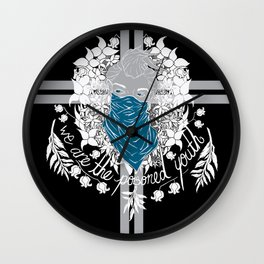 The Poisoned Youth Wall Clock