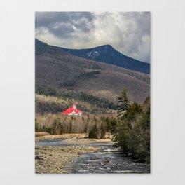 Castle on the Pemi Canvas Print