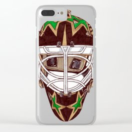 Casey - Mask Clear iPhone Case